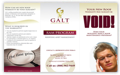 galt construction brochure design