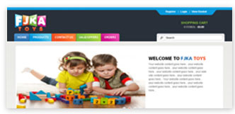 E-Commerce Website Sample 3